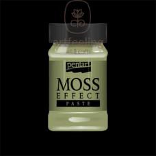MOSS EFFECT PASTE - PASTA EFECT MUSCHI- 100ML- PENTART -VERDE  DESCHIS