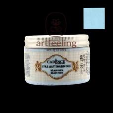 PASTA RELIEF MATA SHABBY CHIC CADENCE - ALBASTRU DESCHIS 150 ML