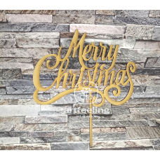 "TOPPER  ""MERRY CHRISTMAS"" 1"