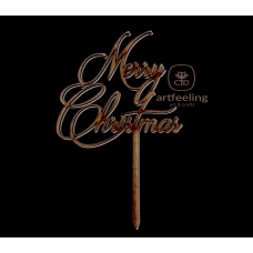 "TOPPER  ""MERRY CHRISTMAS"" 2"