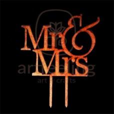 """TOPPER TORT """"MR&MRS"""" 15 CM"""